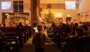 Foto's Sfeervolle Kerstviering