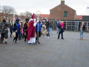 Foto's van het bezoek van Sinterklaas aan de Lichtstraal